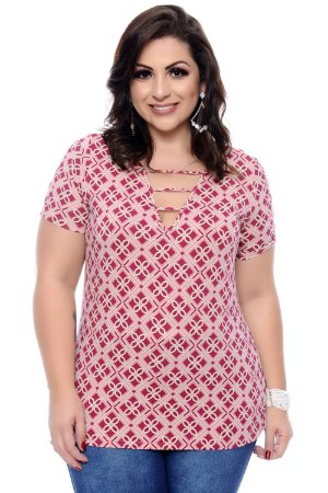 Blusa Plus Size Kalisa