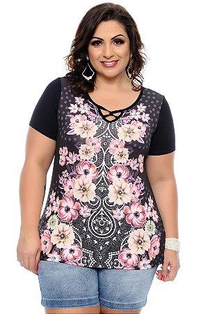 Blusa Plus Size Cleren