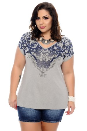 Blusa Plus Size Muzel
