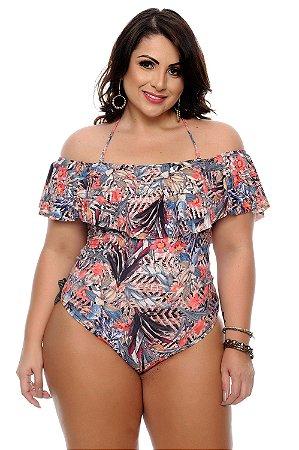 d8c45fb27 Maiô Body Ciganinha Plus Size Playa