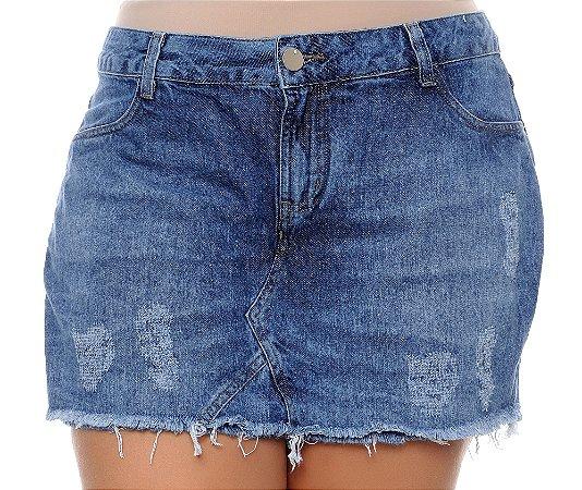 Shorts Saia Jeans Plus Size Samma