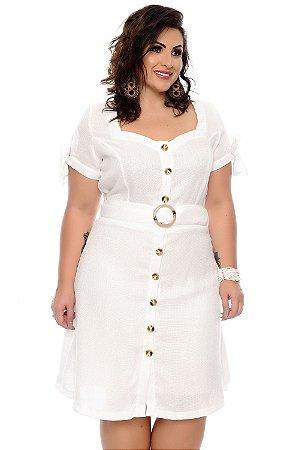 Vestido de Linho Plus Size Yamile