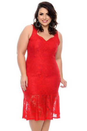 Vestido Plus Size Alecy