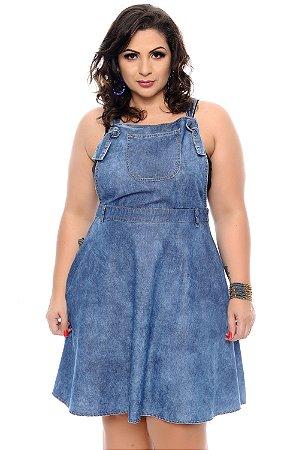 Salopete Jeans Plus Size Kedna