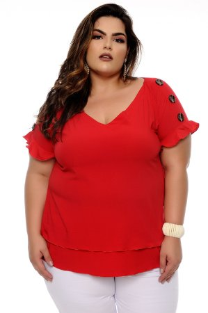 Blusa Plus Size Wainna