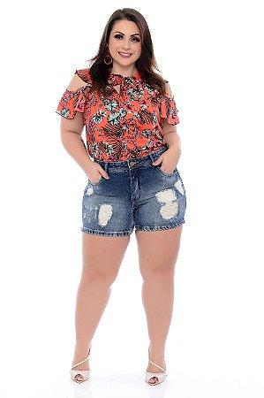 Blusa Plus Size Telane