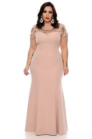 Vestido Longo Plus Size Zemke