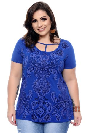 Blusa Plus Size Cassali