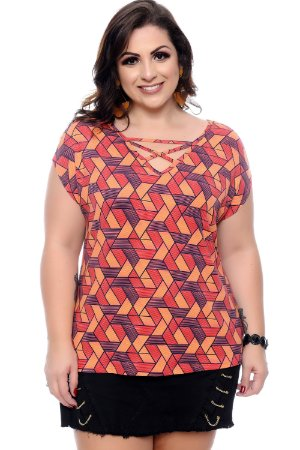 Blusa Plus Size Halida