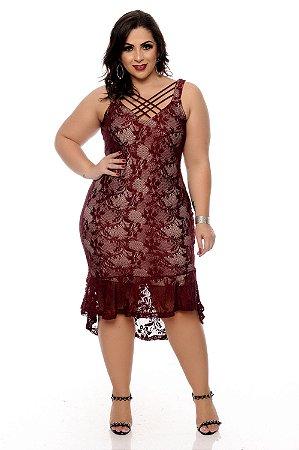 Vestido Plus Size Pinatti