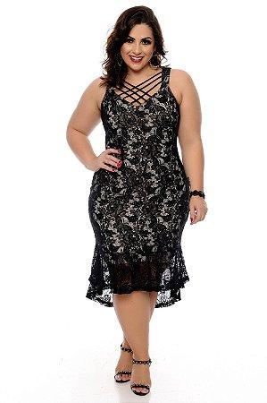 Vestido Plus Size Balarin