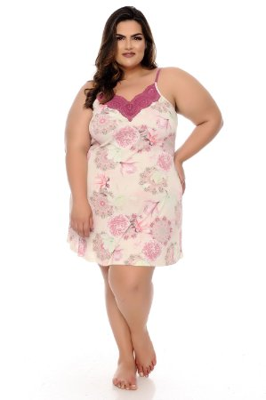 Camisola Plus Size Soelin