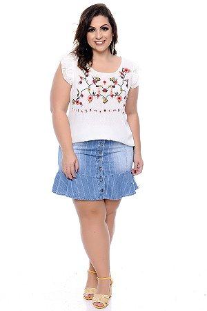 Blusa Plus Size Tiusme