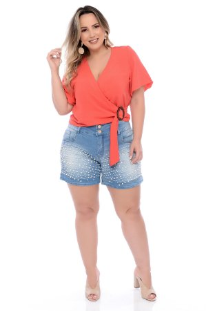Shorts Jeans Plus Size Rhanny