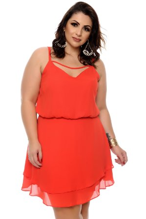 Vestido Plus Size Berdet