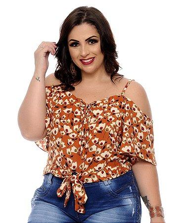 Blusa Plus Size Eleana