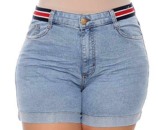 Shorts Jeans Plus Size Laxmy