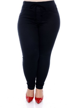 Calça Skinny Plus Size Saori