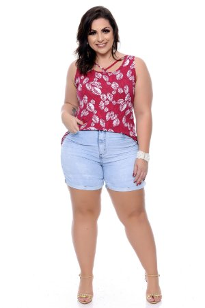 Shorts Jeans Plus Size Wilamy