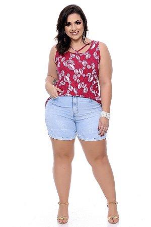 Shorts Jeans Plus Size Wilamy