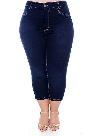 Capri Jeans Plus Size Katiana