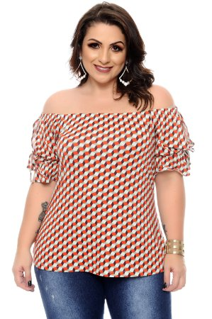 Blusa Plus Size Brida