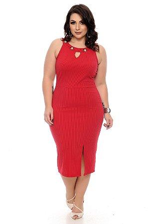 Vestido Plus Size Edilla