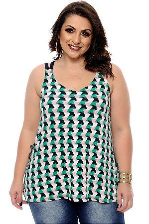 Blusa Plus Size Yally