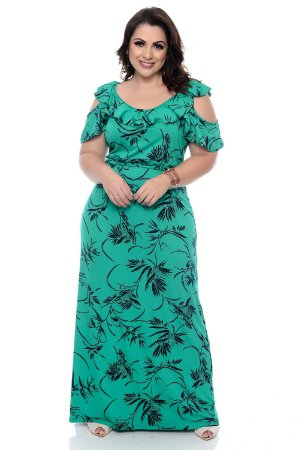 Vestido Longo Plus Size Ghelma