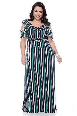 Vestido Longo Plus Size Maryela