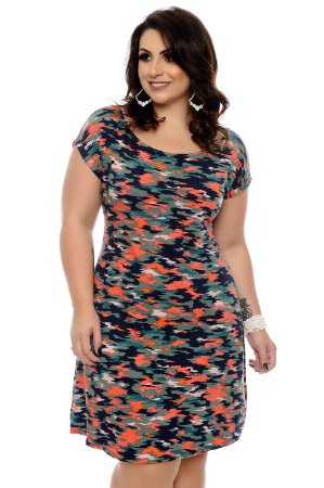 Vestido Plus Size Kainny