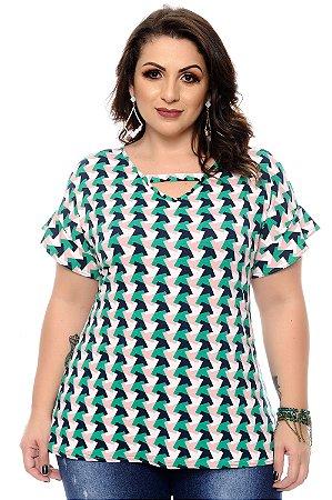 Blusa Plus Size Clecia