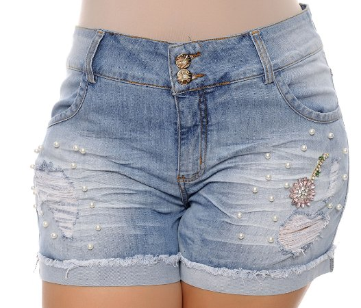 Shorts Jeans Plus Size Malka