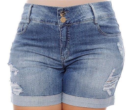 Shorts Jeans Plus Size Zethy