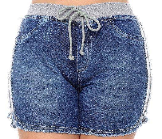 Shorts Jeans Plus Size Thielly
