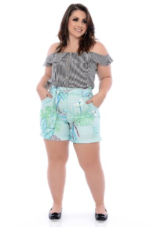 Shorts Plus Size Sara
