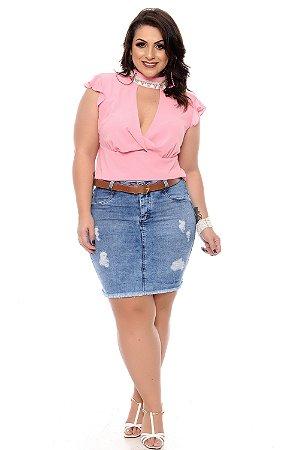 Blusa Plus Size Lowys
