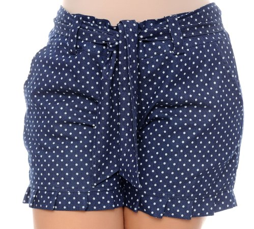 Shorts Poá plus Size Prettah