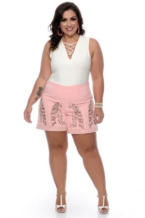 Shorts Jeans Plus Size Arlete