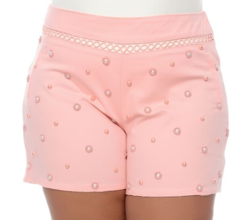 Shorts Plus Size Chirli