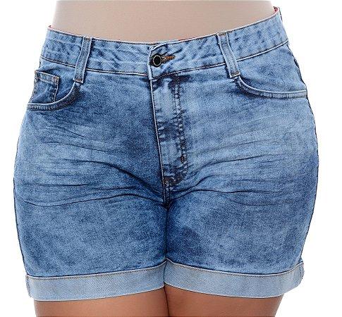 Shorts Jeans Plus Size Violeta