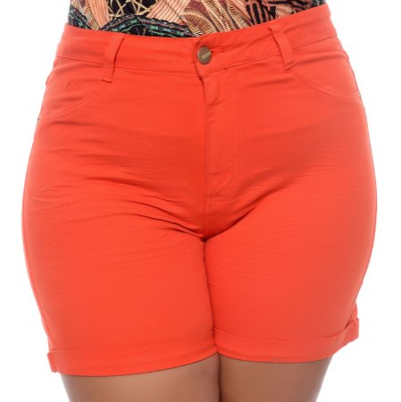 Shorts Coral Plus Size Mary