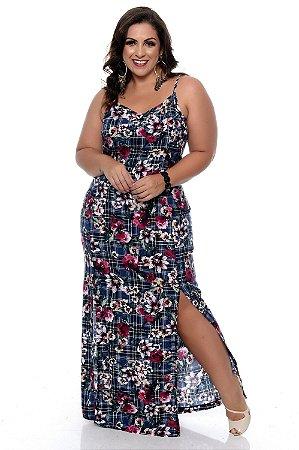 Vestido Longo Plus Size Djadi