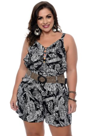 Conjunto Plus Size Morit