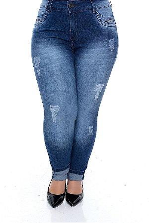 Calça Skinny Jeans Plus Size Dawn