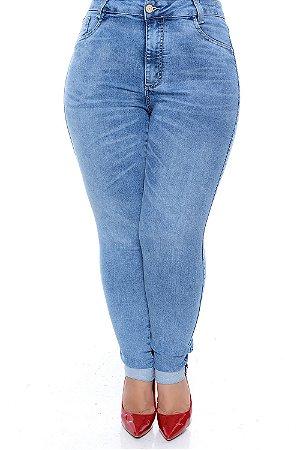 Calça Skinny Jeans Plus Size Khawane
