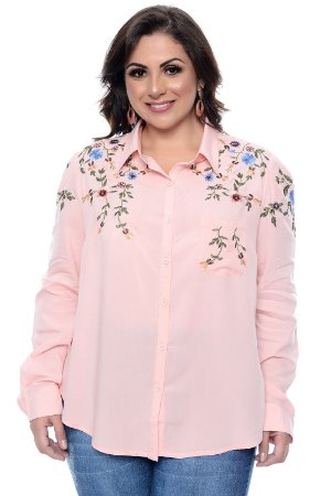 Camisa Plus Size Nadya