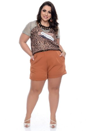 Shorts Plus Size Scarlet