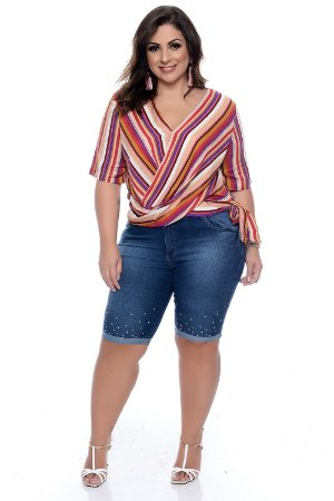 Blusa Plus Size Heizer