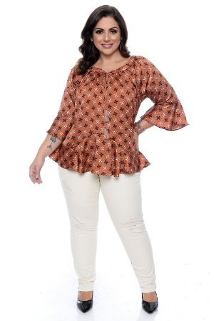 Blusa Plus Size April